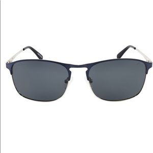 Sperry Matte Navy & Silvertone Whitecap Sunglasses